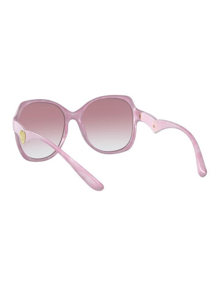 Pink Oversized Sunglasses 0DG6154 image 6