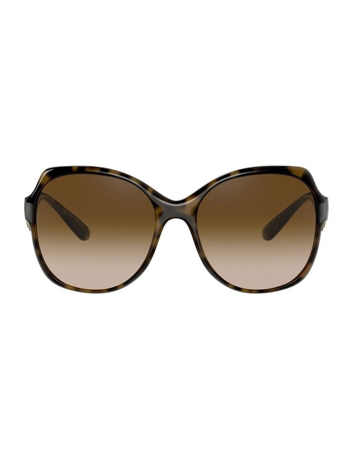 Tortoise Oversized Sunglasses 0DG6154 image 2
