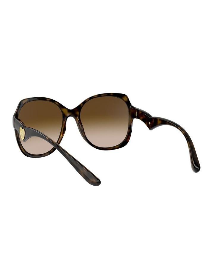 Tortoise Oversized Sunglasses 0DG6154 image 6