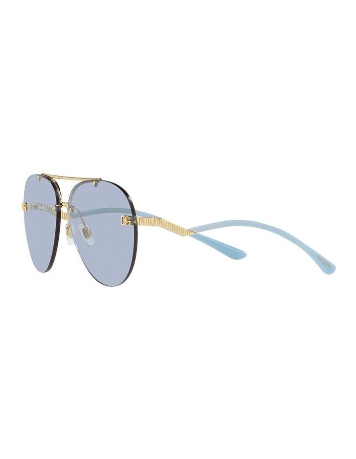 Gold/Blue Aviator Sunglasses 0DG2272 image 3