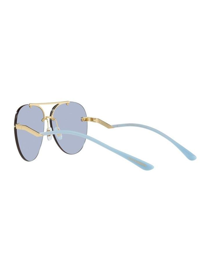 Gold/Blue Aviator Sunglasses 0DG2272 image 5