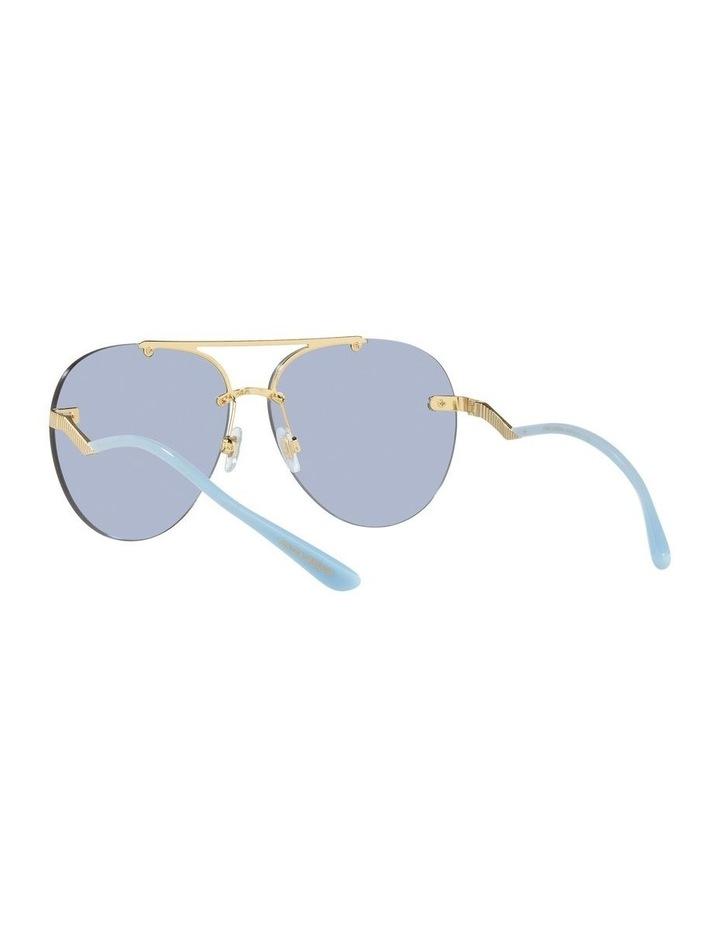 Gold/Blue Aviator Sunglasses 0DG2272 image 6