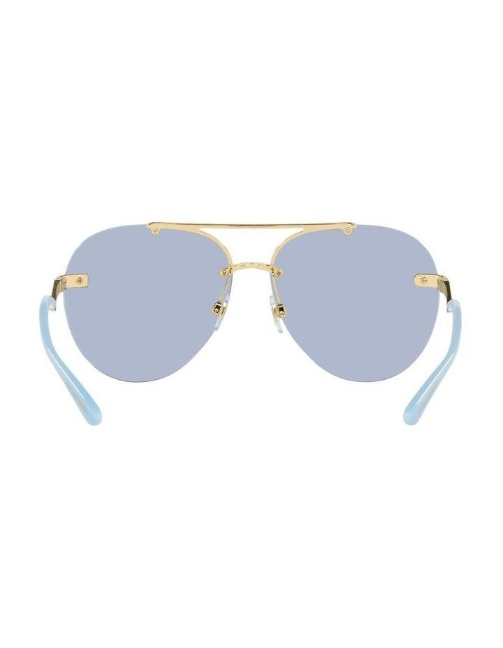 Gold/Blue Aviator Sunglasses 0DG2272 image 7