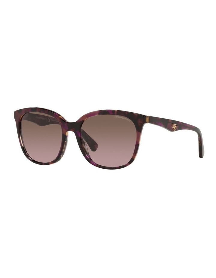 Red Rectangle Sunglasses 0EA4157F image 1