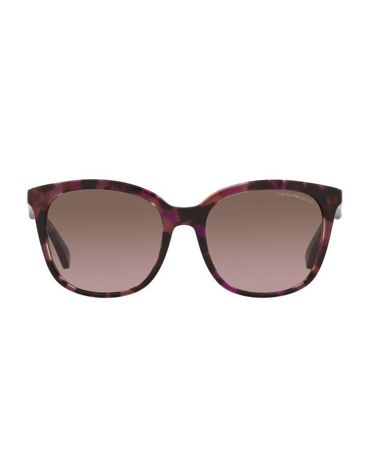 Red Rectangle Sunglasses 0EA4157F image 2