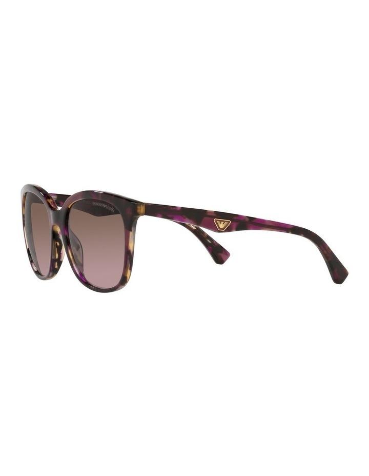 Red Rectangle Sunglasses 0EA4157F image 3