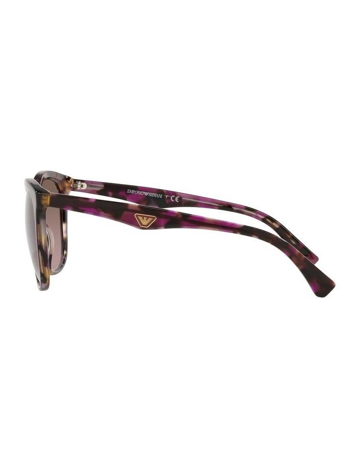 Red Rectangle Sunglasses 0EA4157F image 4