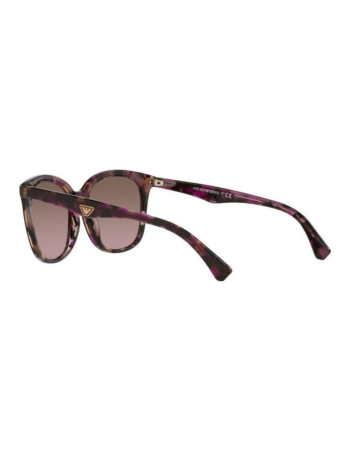 Red Rectangle Sunglasses 0EA4157F image 5
