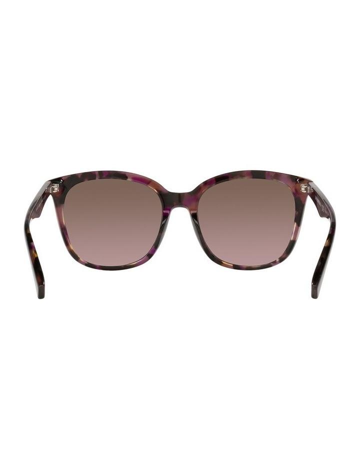 Red Rectangle Sunglasses 0EA4157F image 7
