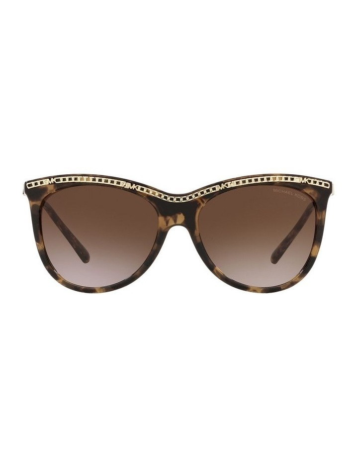 Copenhagen Gold/Tort Round Sunglasses 0MK2141 image 2