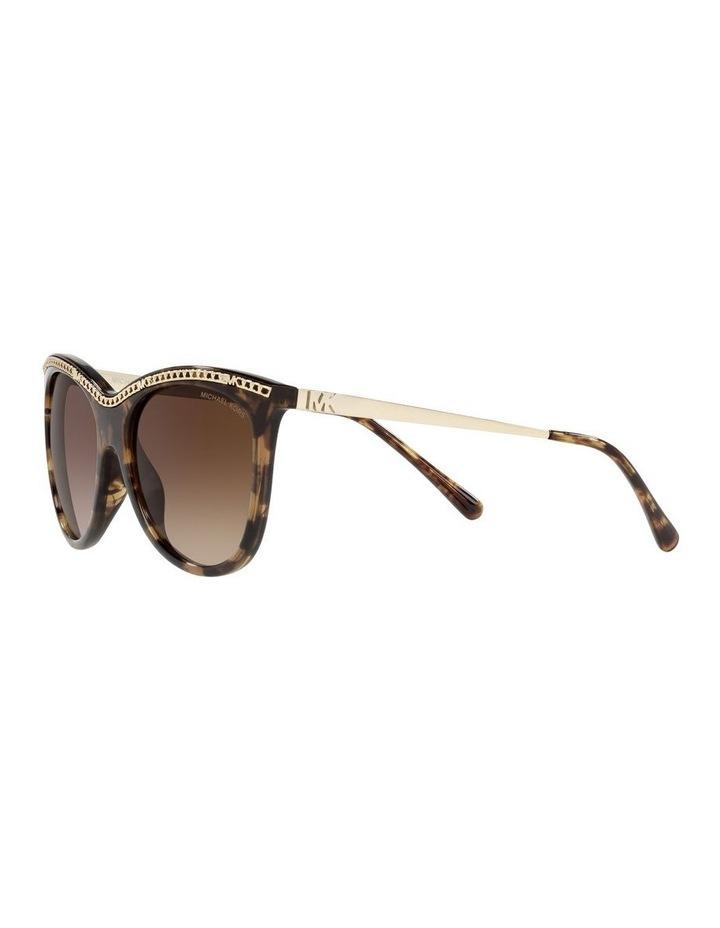 Copenhagen Gold/Tort Round Sunglasses 0MK2141 image 3