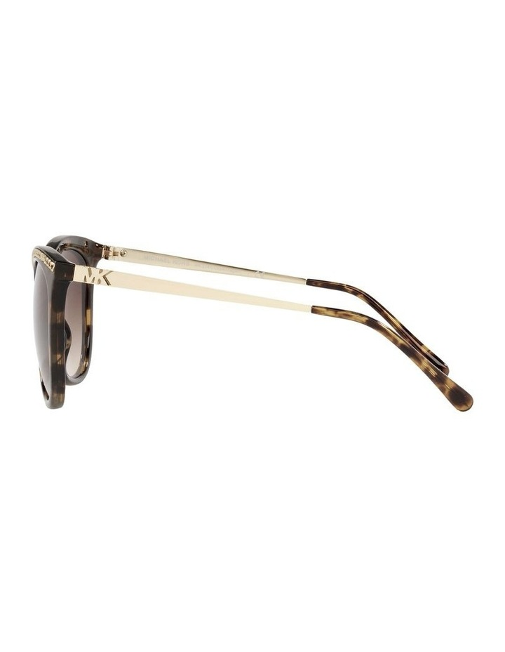 Copenhagen Gold/Tort Round Sunglasses 0MK2141 image 4