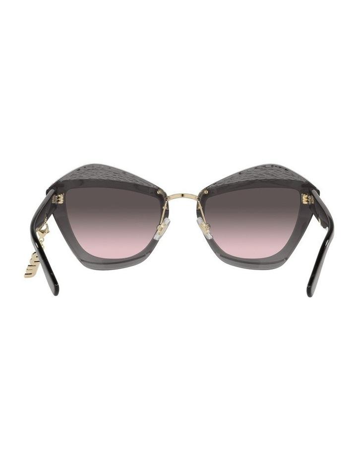 Grey/Pink Cat Eye Sunglasses 0MU 01XS image 7