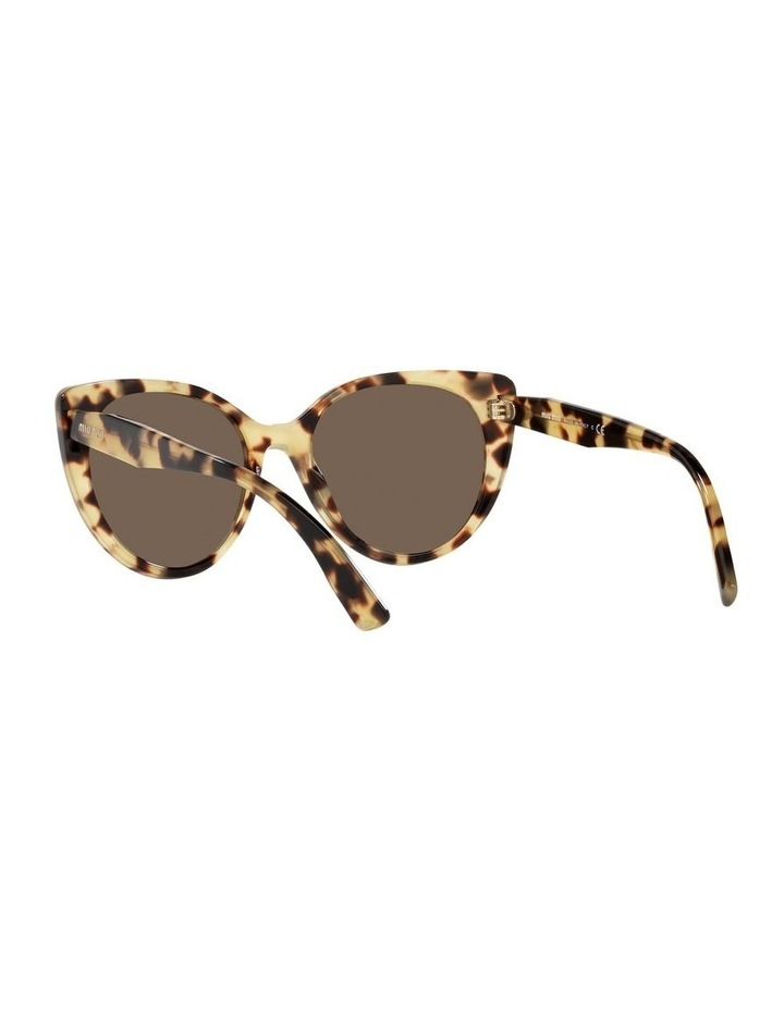 Brown Cat Eye Sunglasses 0MU 04XS image 6