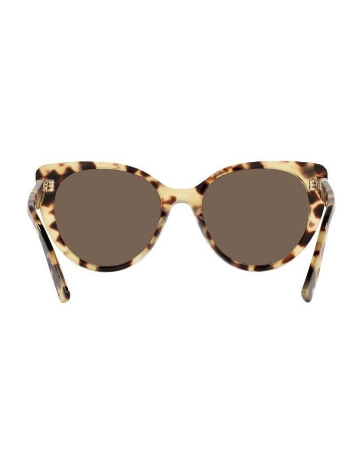 Brown Cat Eye Sunglasses 0MU 04XS image 7