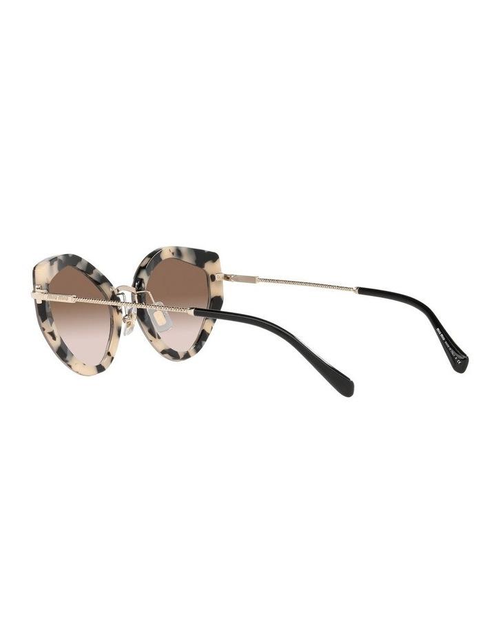 Brown Cat Eye Sunglasses 0MU 08XS image 5