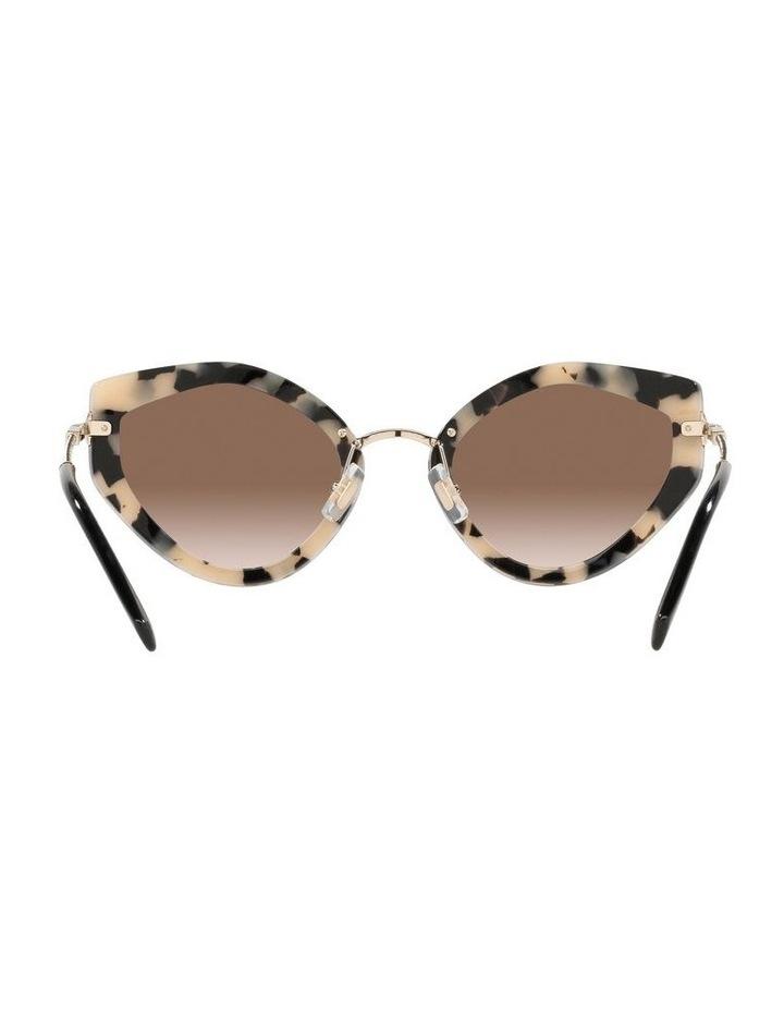 Brown Cat Eye Sunglasses 0MU 08XS image 7