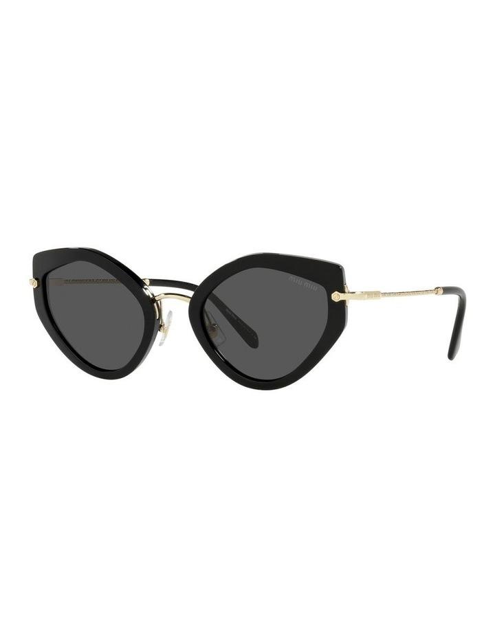 Black Cat Eye Sunglasses 0MU 08XS image 1