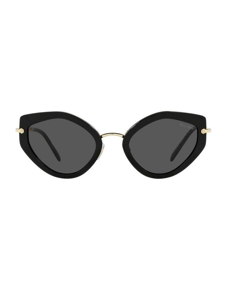 Black Cat Eye Sunglasses 0MU 08XS image 2