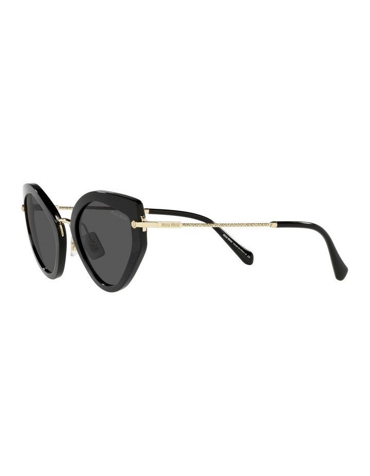 Black Cat Eye Sunglasses 0MU 08XS image 3