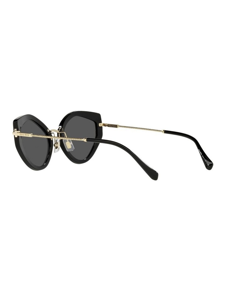 Black Cat Eye Sunglasses 0MU 08XS image 5