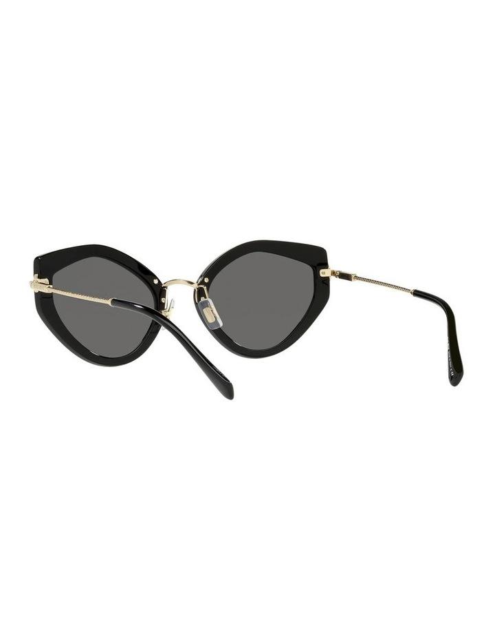 Black Cat Eye Sunglasses 0MU 08XS image 6