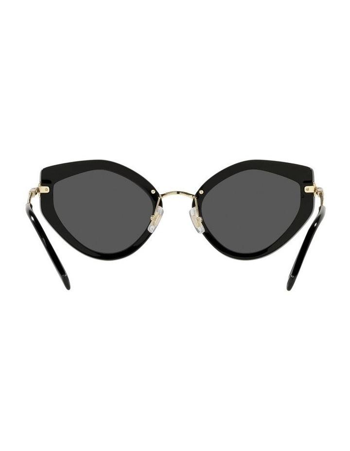 Black Cat Eye Sunglasses 0MU 08XS image 7