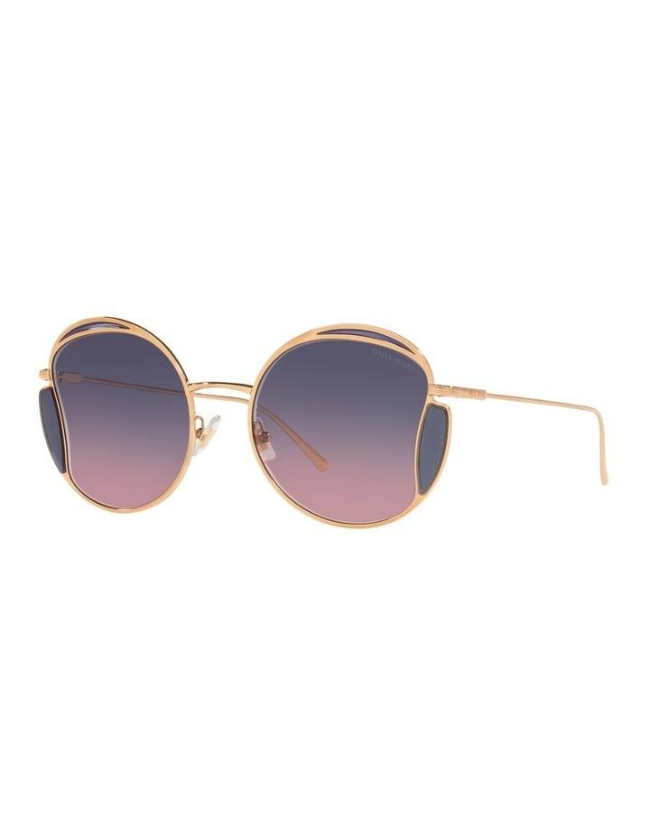 Taupe Square Sunglasses 0MU 56XS image 1
