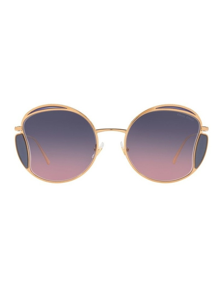 Taupe Square Sunglasses 0MU 56XS image 2