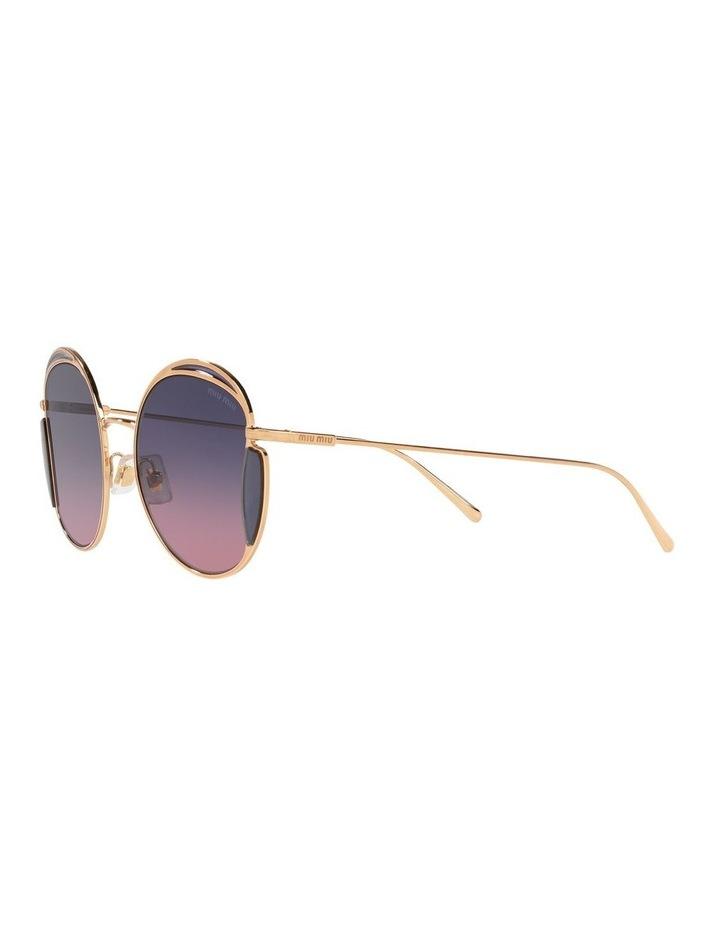 Taupe Square Sunglasses 0MU 56XS image 3