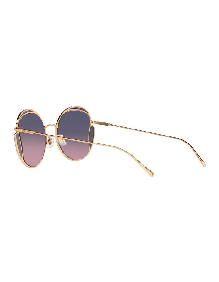 Taupe Square Sunglasses 0MU 56XS image 5