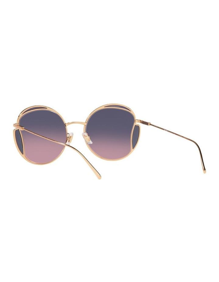 Taupe Square Sunglasses 0MU 56XS image 6