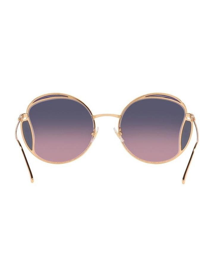 Taupe Square Sunglasses 0MU 56XS image 7