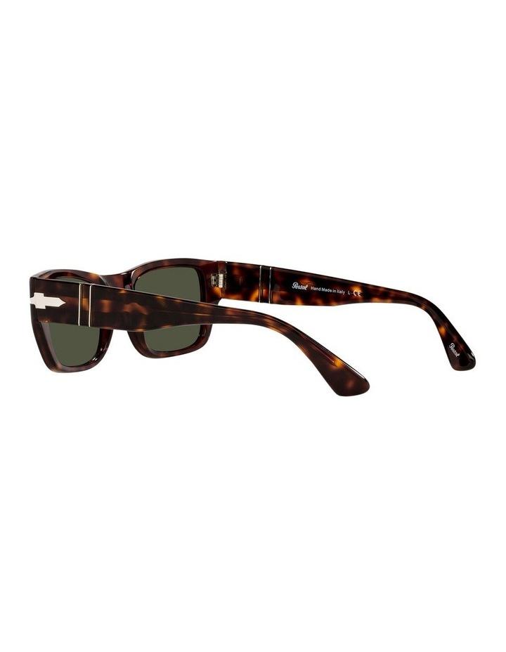Tort/ Green Rectangle Sunglasses 0PO3268S image 5