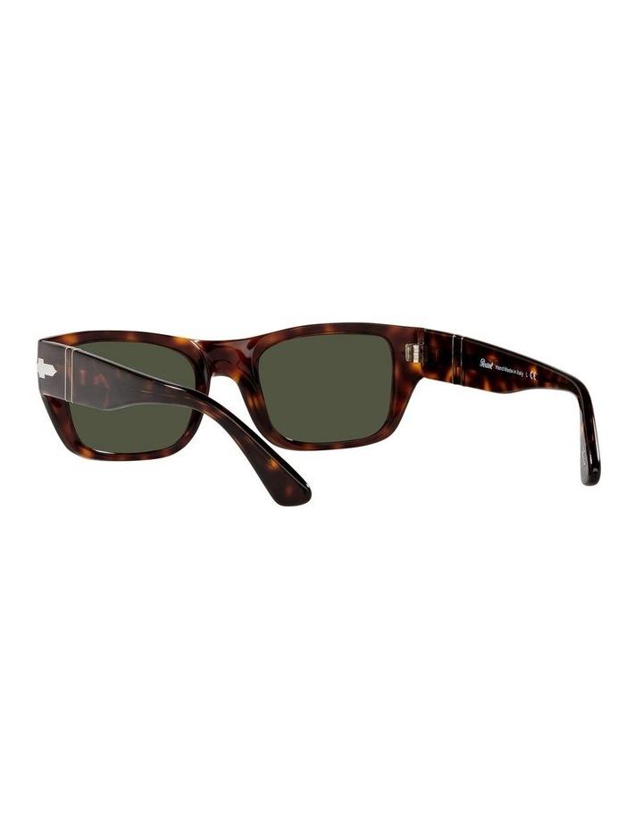 Tort/ Green Rectangle Sunglasses 0PO3268S image 6