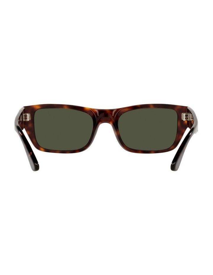 Tort/ Green Rectangle Sunglasses 0PO3268S image 7
