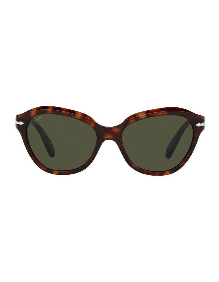 Tort/ Green Cat Eye Sunglasses 0PO0582S image 2