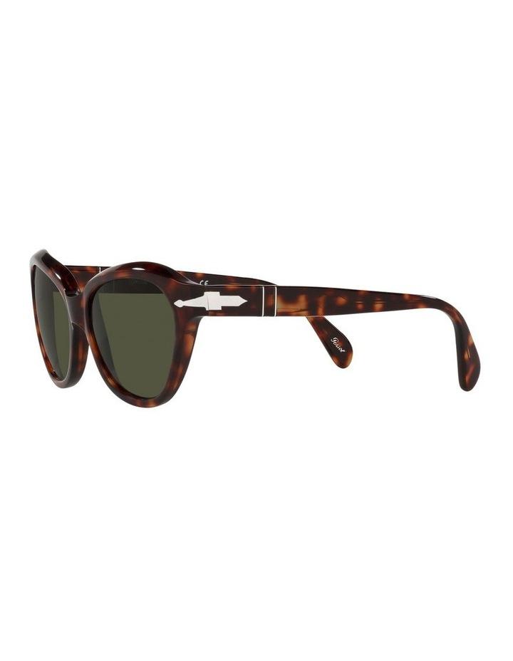 Tort/ Green Cat Eye Sunglasses 0PO0582S image 3