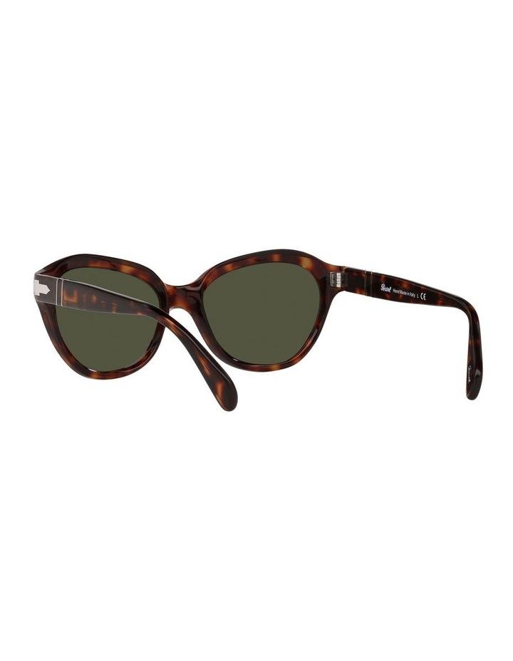 Tort/ Green Cat Eye Sunglasses 0PO0582S image 6