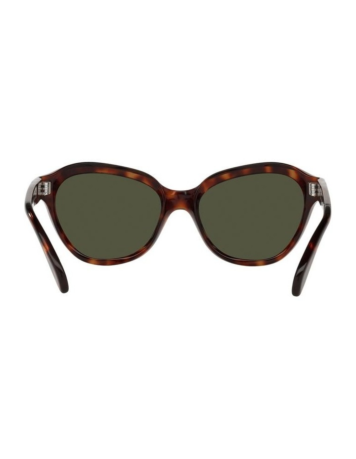 Tort/ Green Cat Eye Sunglasses 0PO0582S image 7