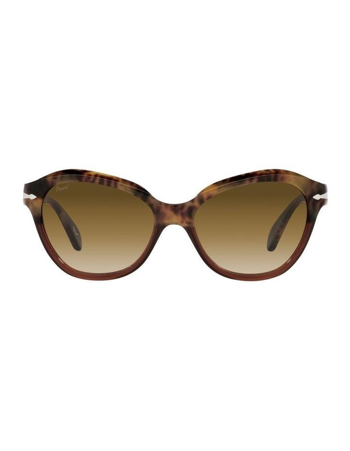 Tort/ Brown Cat Eye Sunglasses 0PO0582S image 2