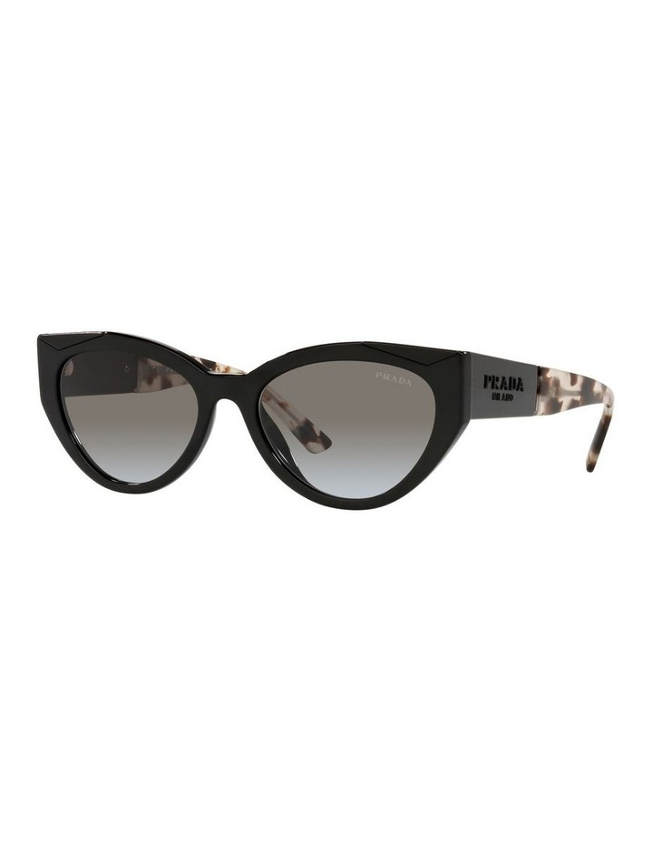 Black/ Tort Cat Eye Sunglasses 0PR 03WS image 1