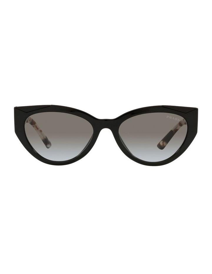 Black/ Tort Cat Eye Sunglasses 0PR 03WS image 2