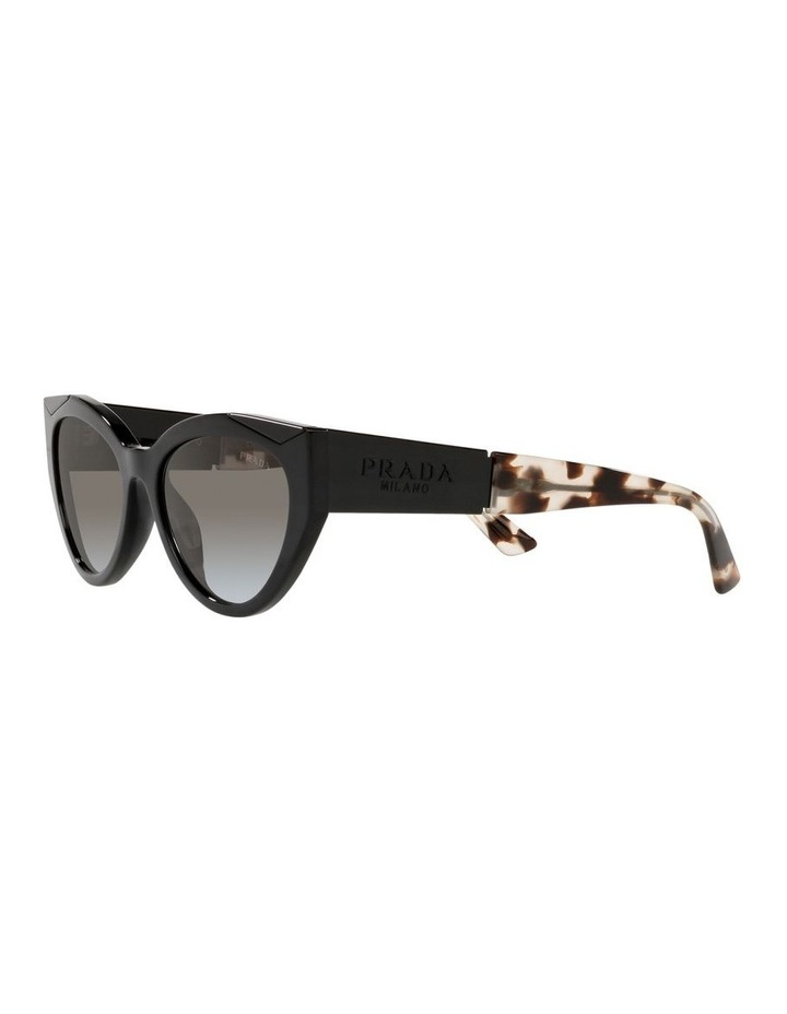 Black/ Tort Cat Eye Sunglasses 0PR 03WS image 3