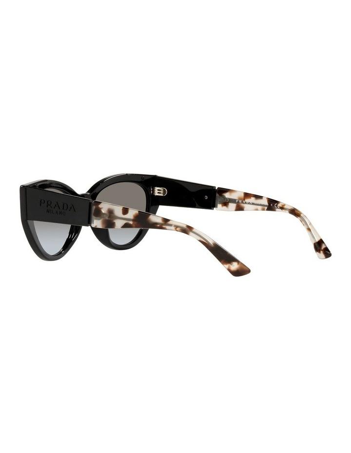 Black/ Tort Cat Eye Sunglasses 0PR 03WS image 5