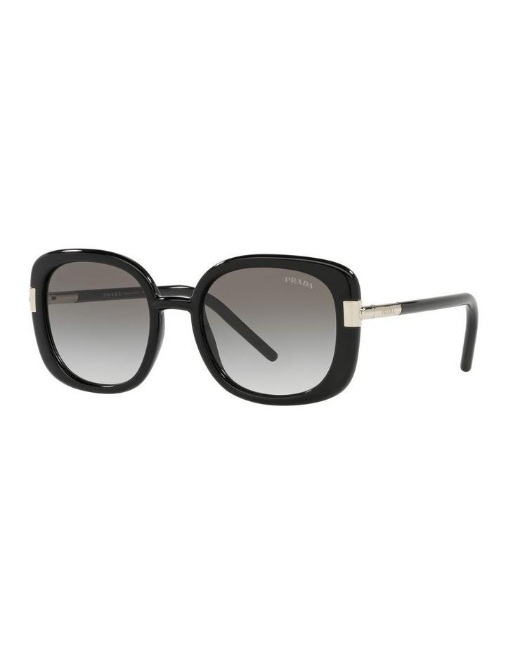 Black Rectangle Sunglasses 0PR 04WS image 1