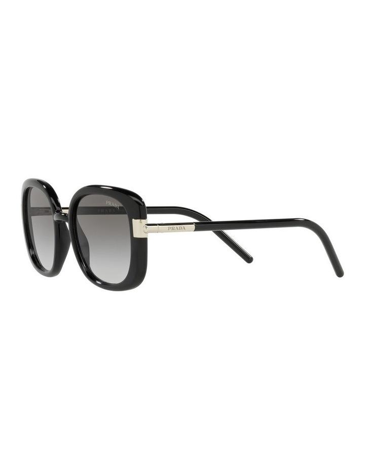 Black Rectangle Sunglasses 0PR 04WS image 3