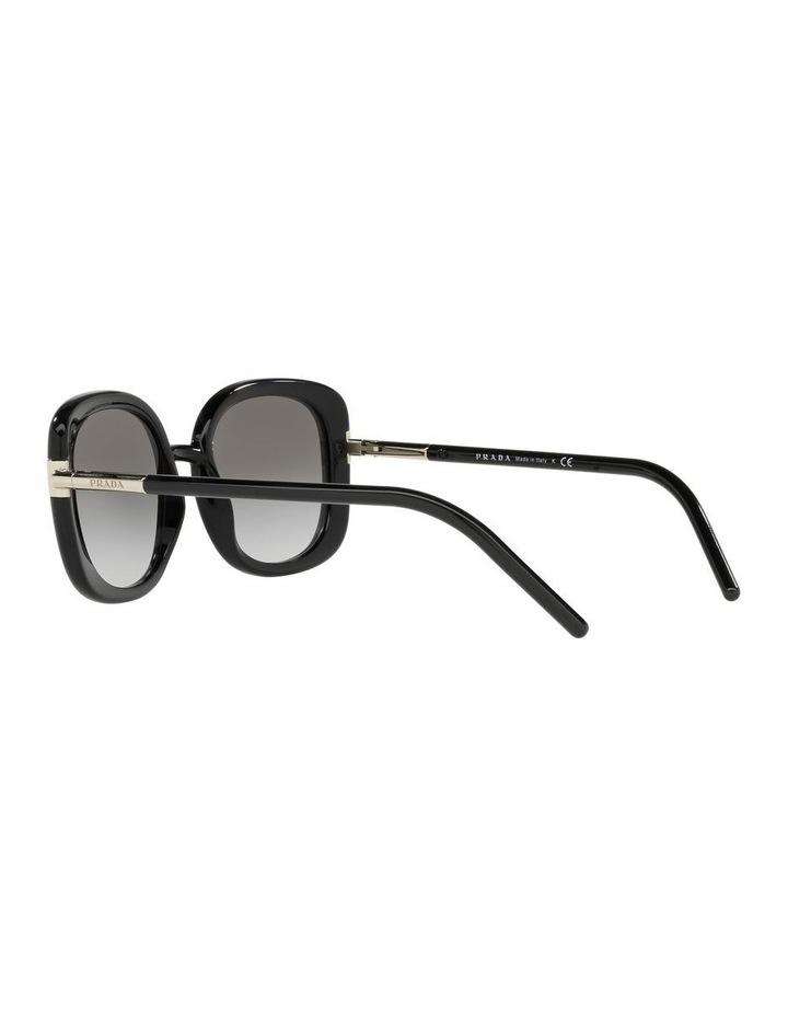 Black Rectangle Sunglasses 0PR 04WS image 5
