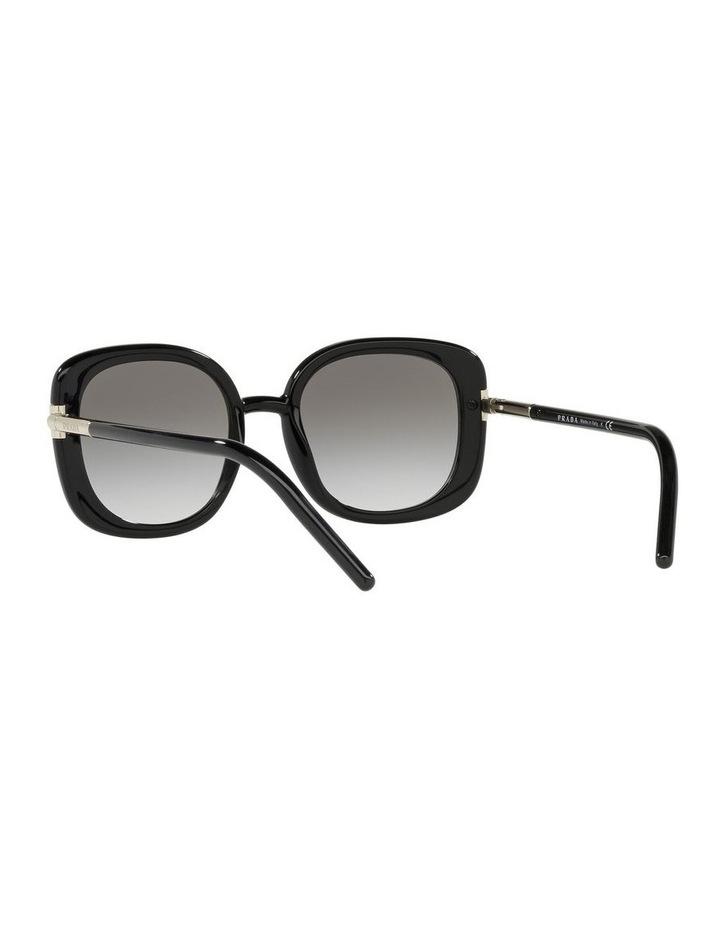 Black Rectangle Sunglasses 0PR 04WS image 6