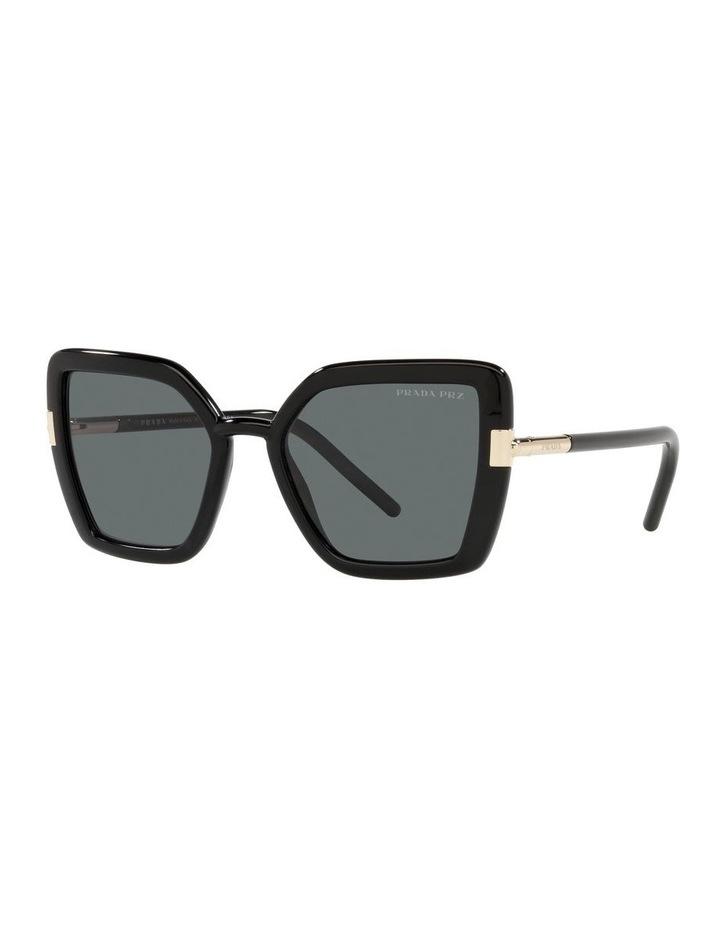Polarised Black Cat Eye Sunglasses 0PR 09WS image 1